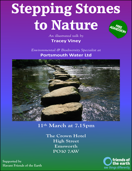 Stepping Stones to Nature Talk (Strapline)