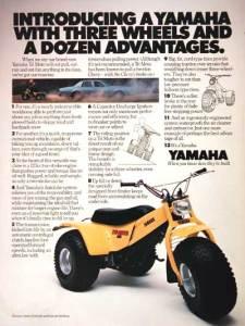 Yamaha Tri-Moto Ad