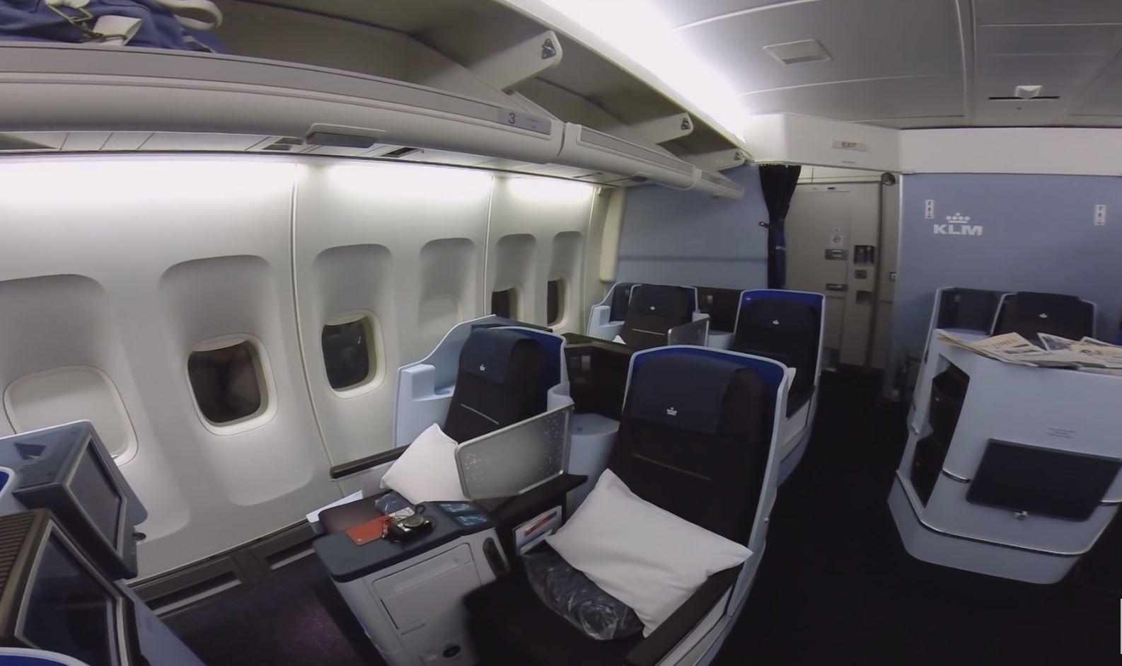 KLM World Business Class  Havayolu 101