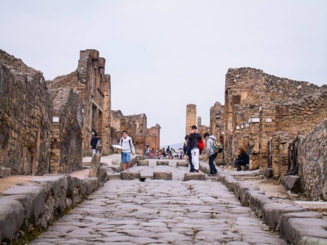 The Ruins of Pompeii & Mount Vesuvius