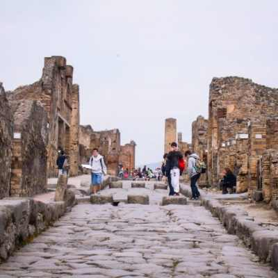 The Ruins of Pompeii & Mount Vesuvius