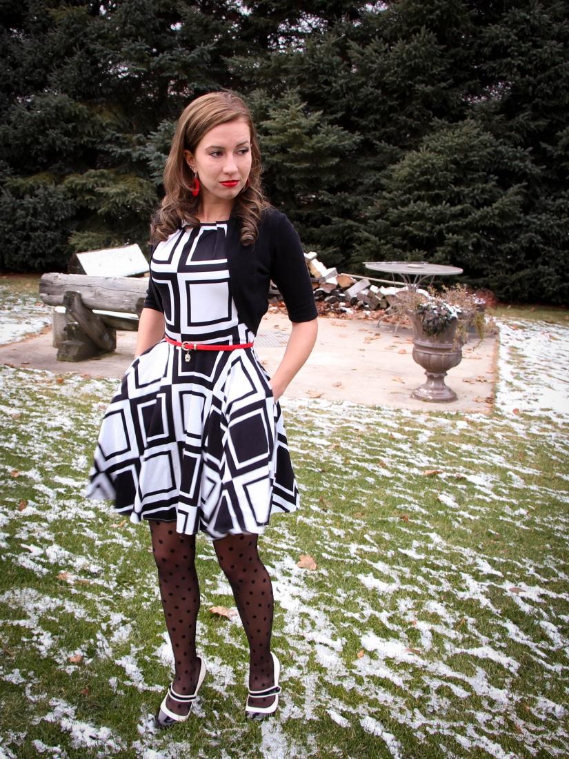 A-Line ModCloth Dress