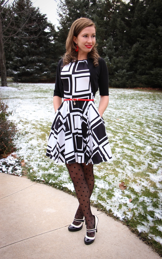 A-Line ModCloth Dress