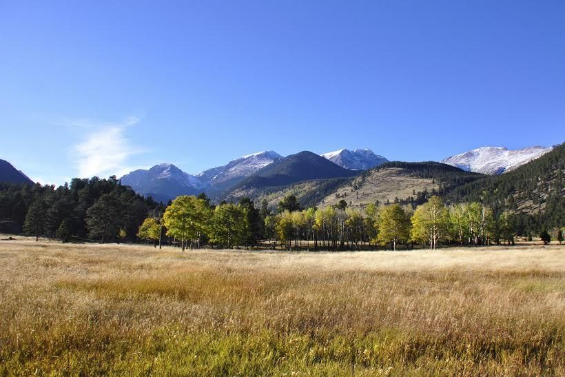Sadie took this photo of the Rocky Mountains while she was in Colorado.