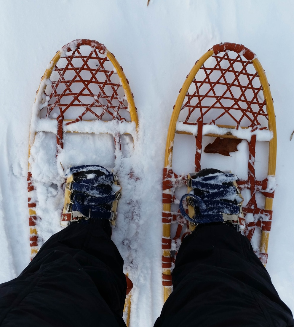 My awesome snowshoes.
