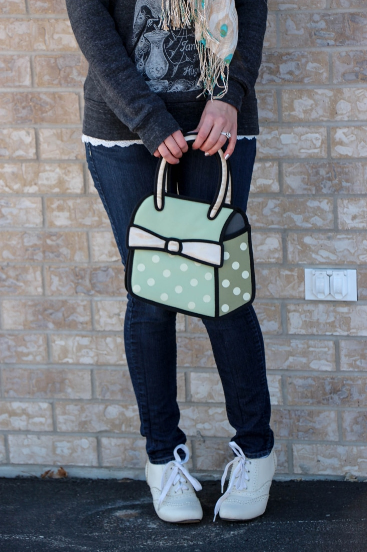 Jump From Paper purse