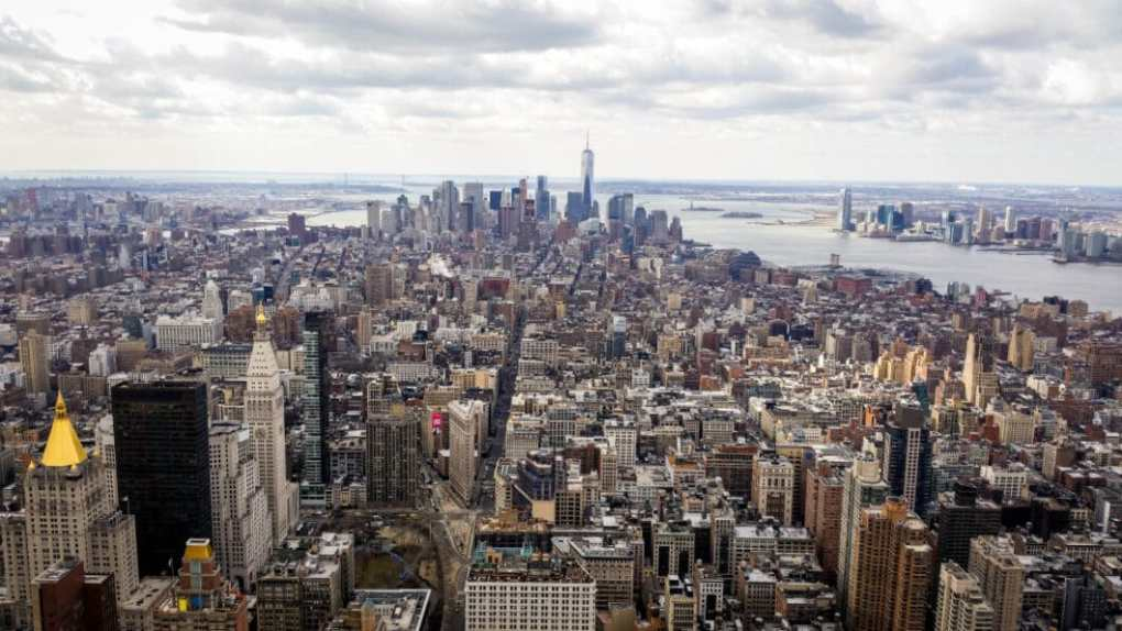 View of NYC from The Empire State Building.
