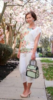 Flowered shirt