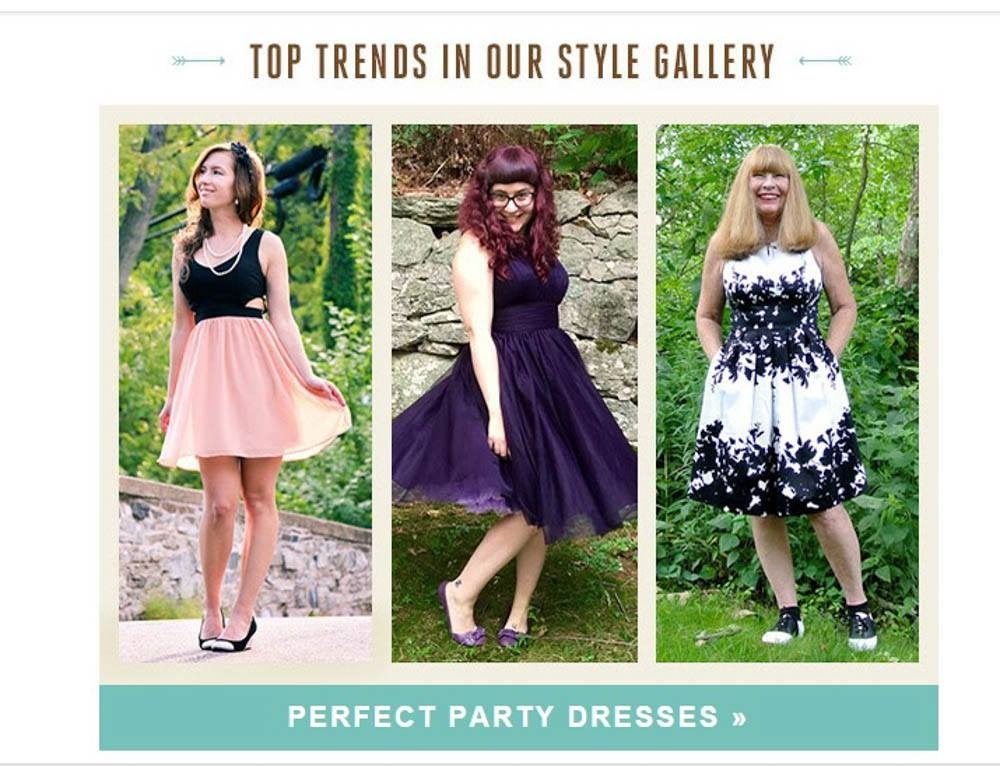 ModCloth Newsletter