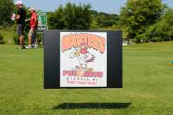 One of the hole sponsor's for this year's outing. It's $50 a hole if you would like to sponsor one next year!