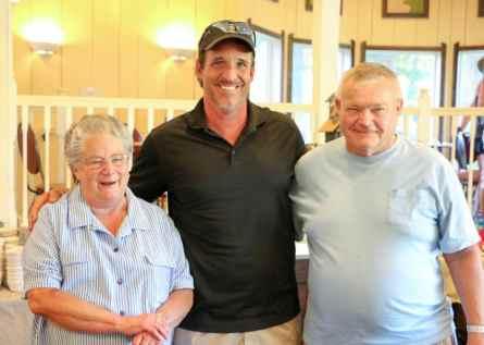 Grandmand & Grandpa with Chris Jacke