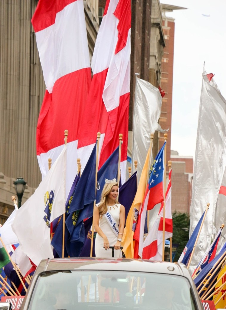 Miss America 2015 in the Philly Parade