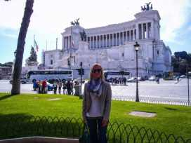 "Altare della Patria...better known as ""the Wedding Cake"""