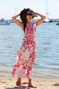 AMI Clubwear Maxi Dress