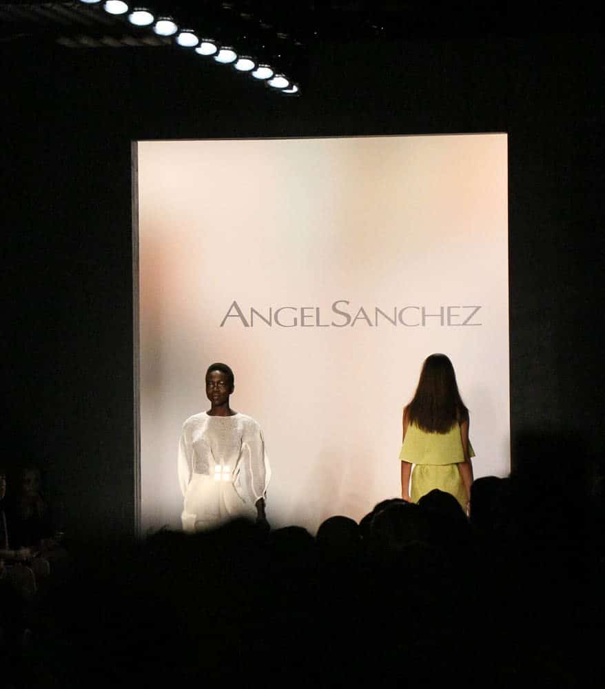 Angel Sanchez Spring 2016 show