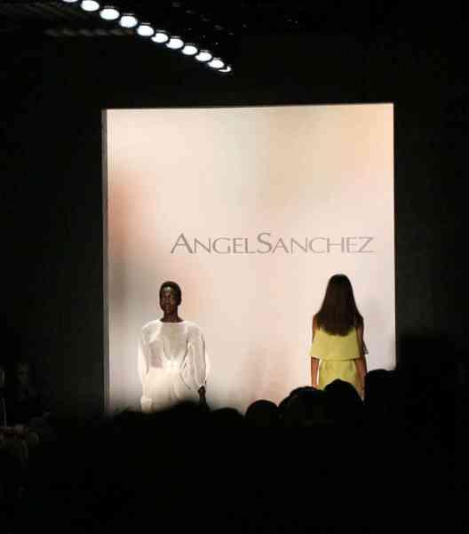 Angel Sanchez Spring 2016 show