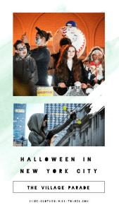 Spending Halloween in NYC