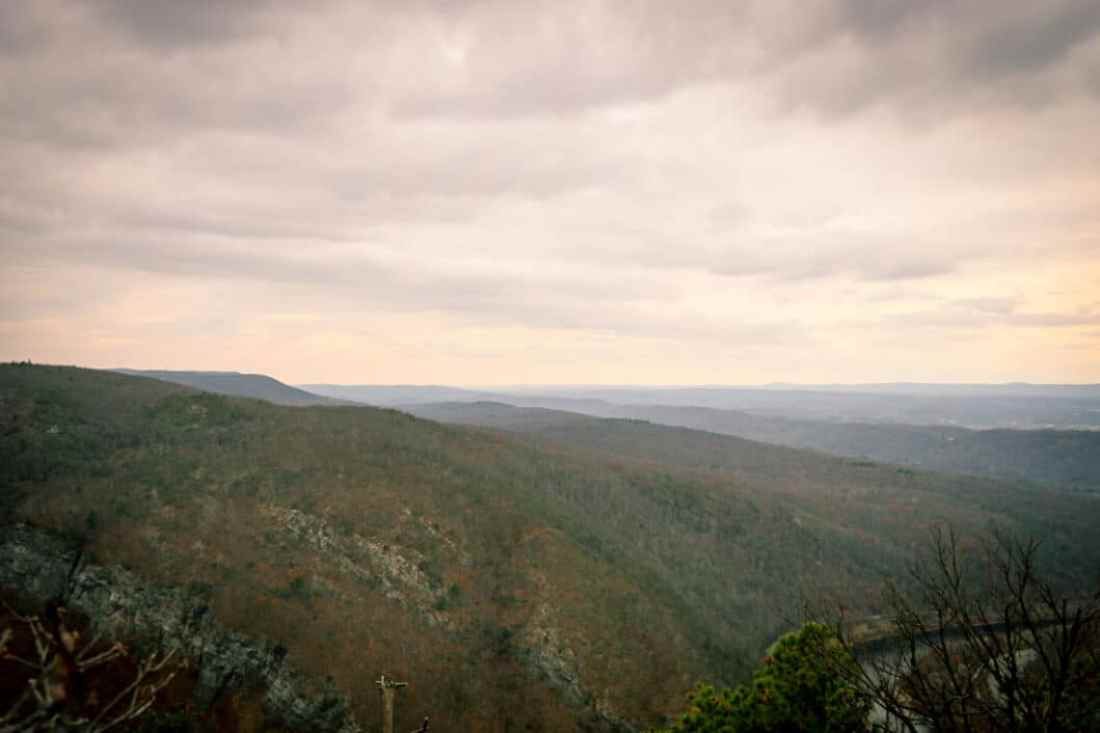 Mt. Tammany hiking