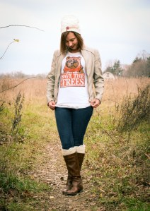 save the trees ewok shirt
