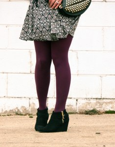 ModCloth Tights & Target Booties
