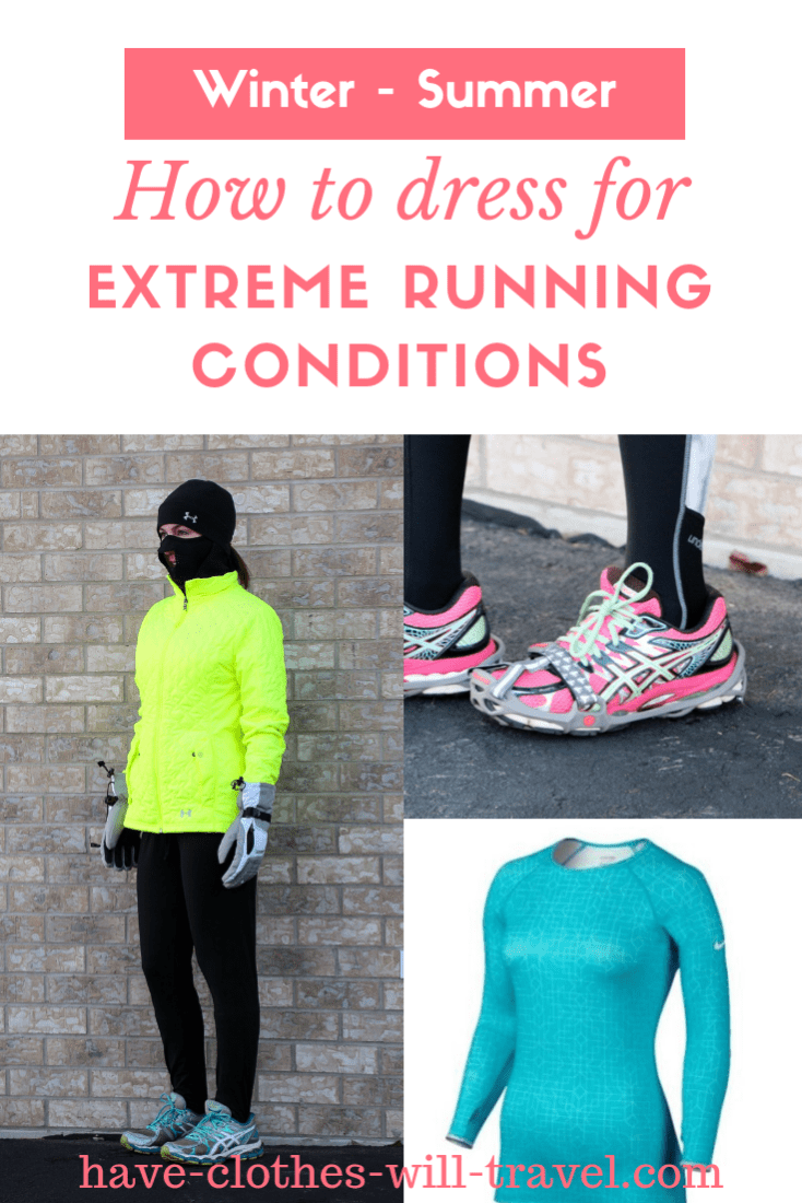Running outfis for extreme weather conditions