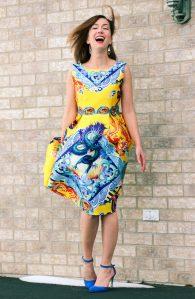 Shein Dragon Dress