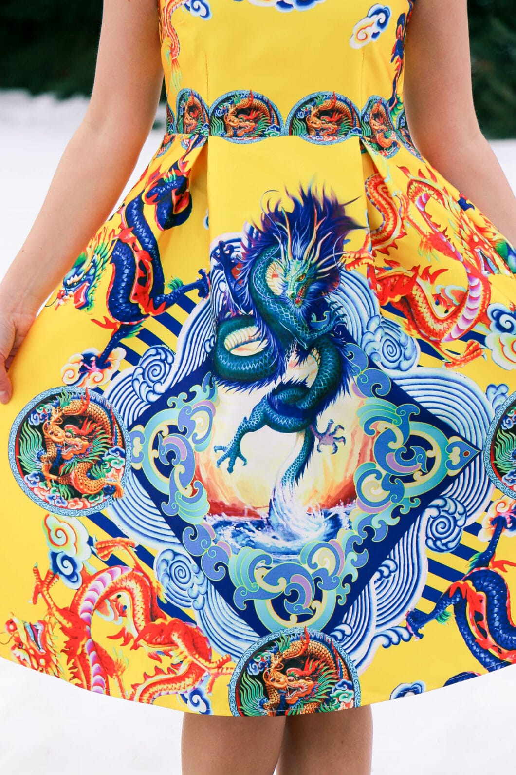 Dragon dress Shein