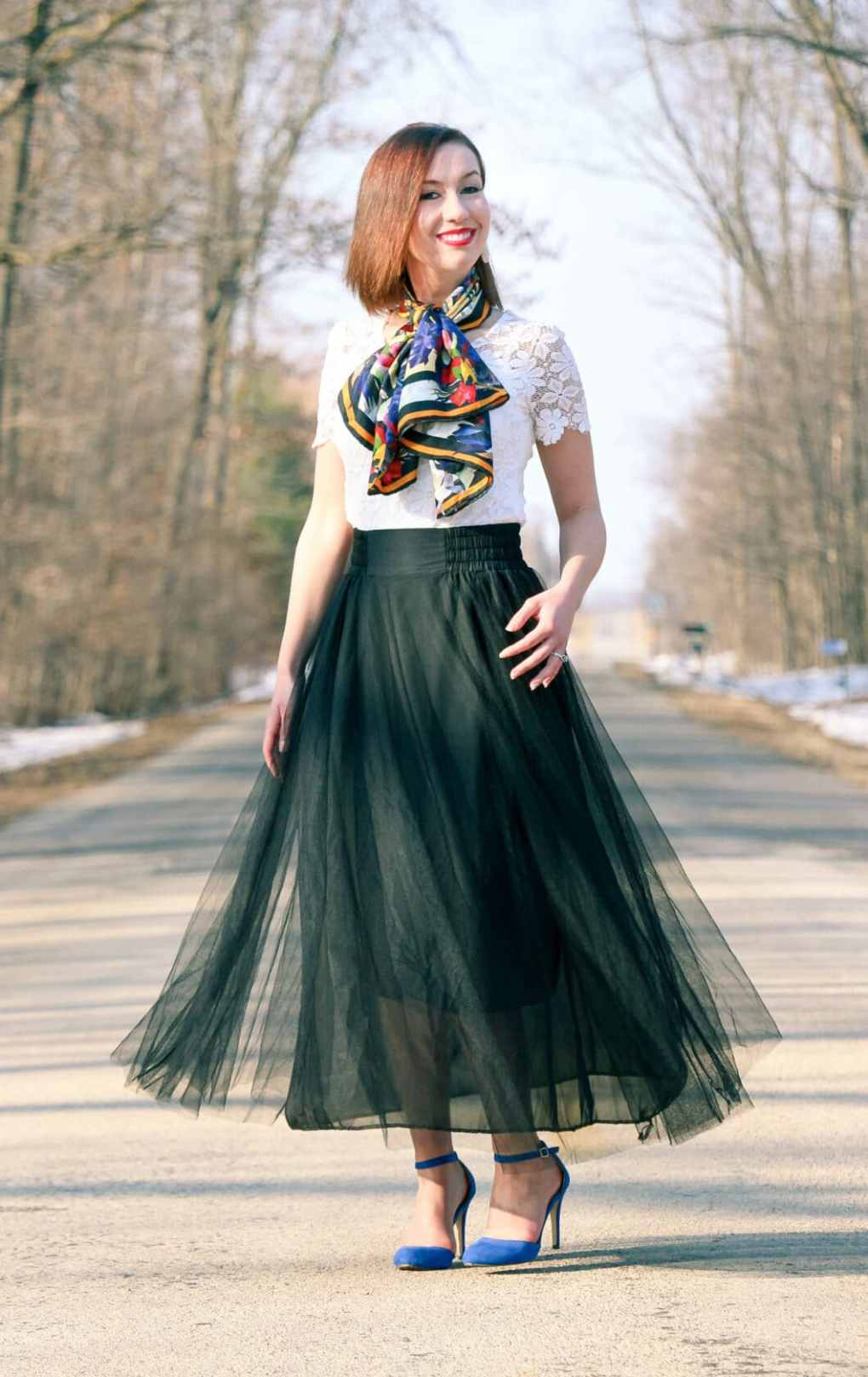 NewChic Tulle Skirt