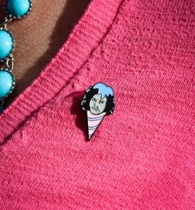 Jon Snow Snow Cone Pin