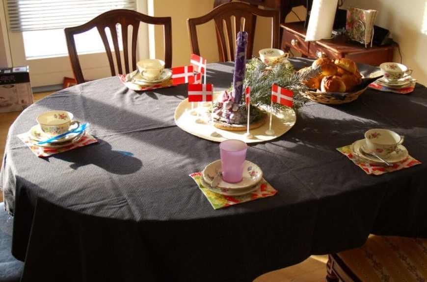 A Danish birthday party