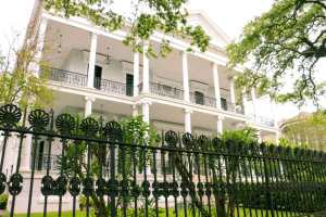The Garden District in New Orleans.