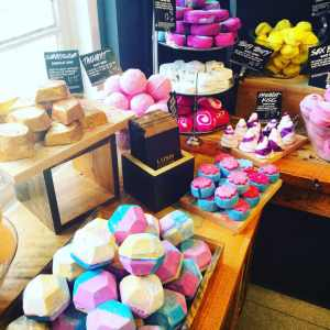 LUSH store on Royal St.