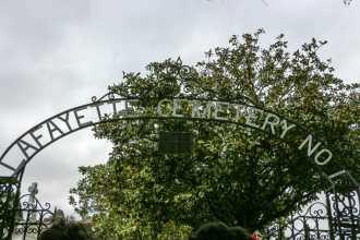 Lafayette Cemetery No. 1 Entrance