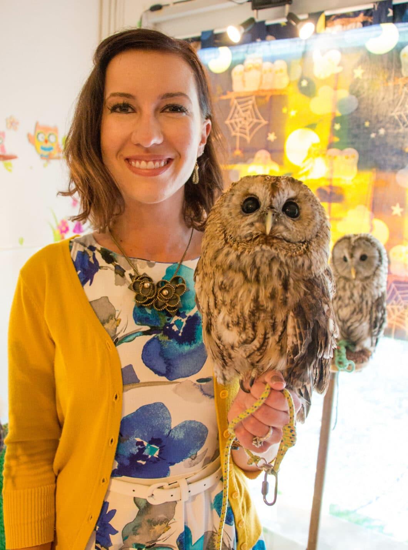 Visiting Tokyo's Owl Cafe: Fukuro no Mise