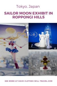 Sailor Moon Exhibit in Roppongi Hills