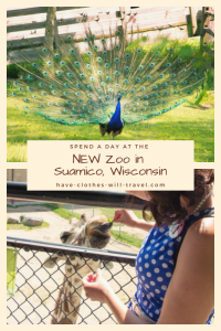 A Day at the NEW Zoo in Suamico, Wisconsin