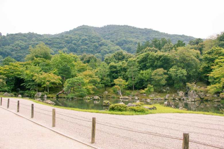 Inside Tenryu-ji Temple