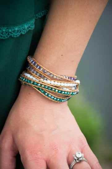 C&A Leather Bracelet