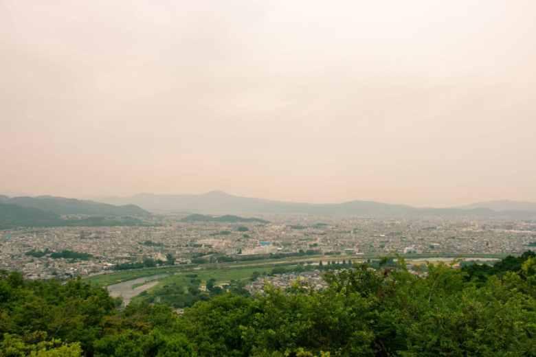 Mt Arashiyama view