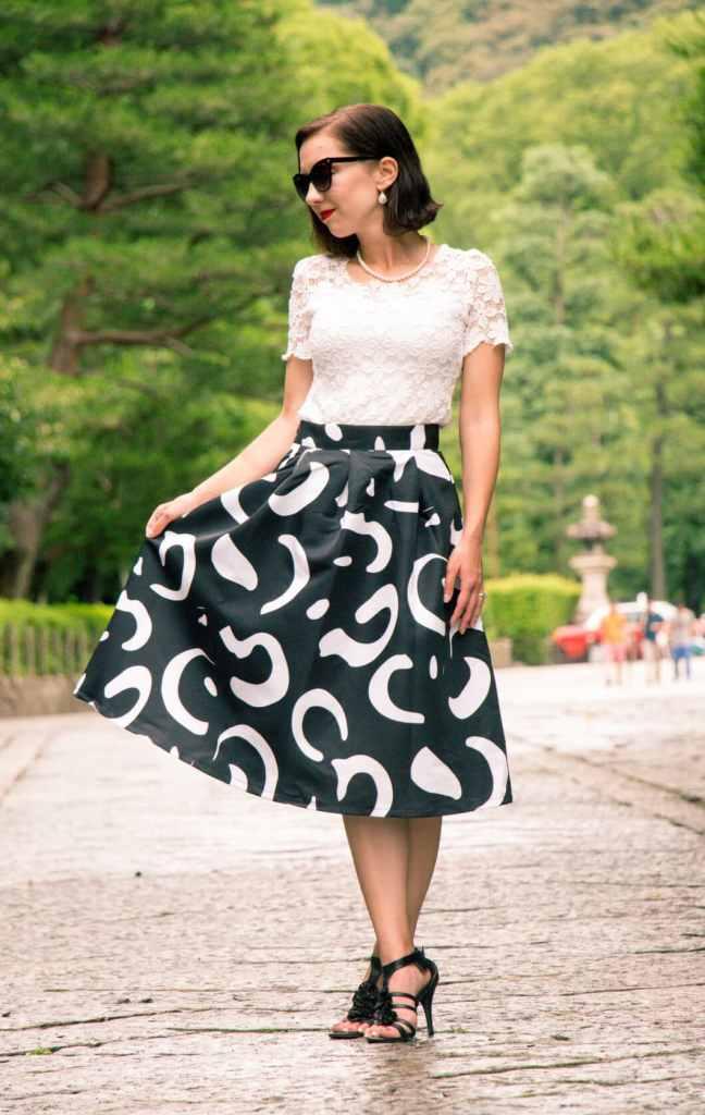 Makemechic midi skirt