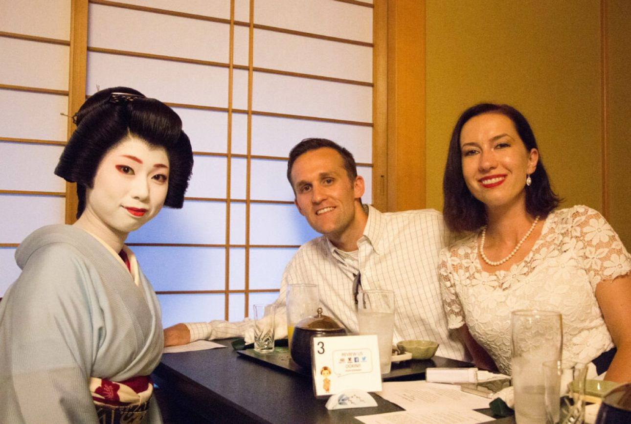 Q&A with a Geisha!
