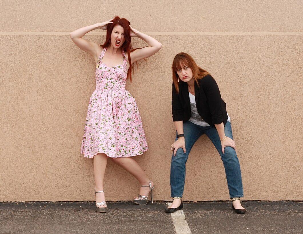 "Shannon & Lauren-Blair of ""Just Shair"""