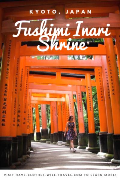Exploring Fushimi Inari Shrine in Kyoto