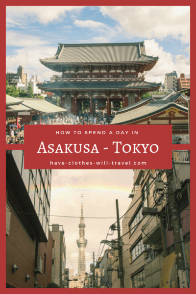 How to Spend a Day in Asakusa (Tokyo)