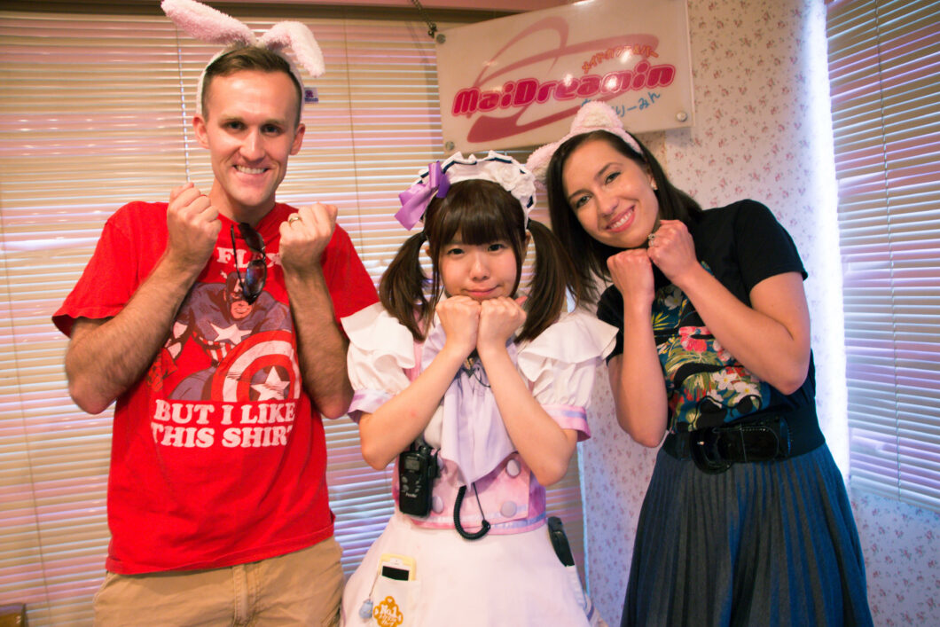 My Experience at Cure Maid Cafe in Tokyo + What I Wore