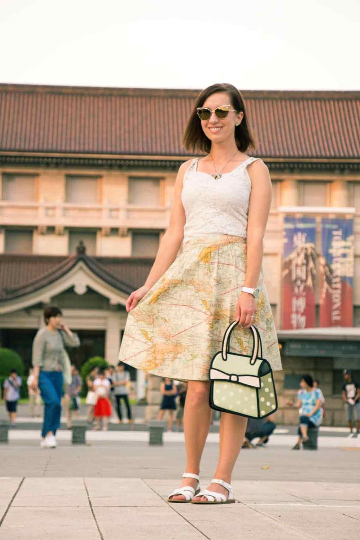 ModCloth map skirt