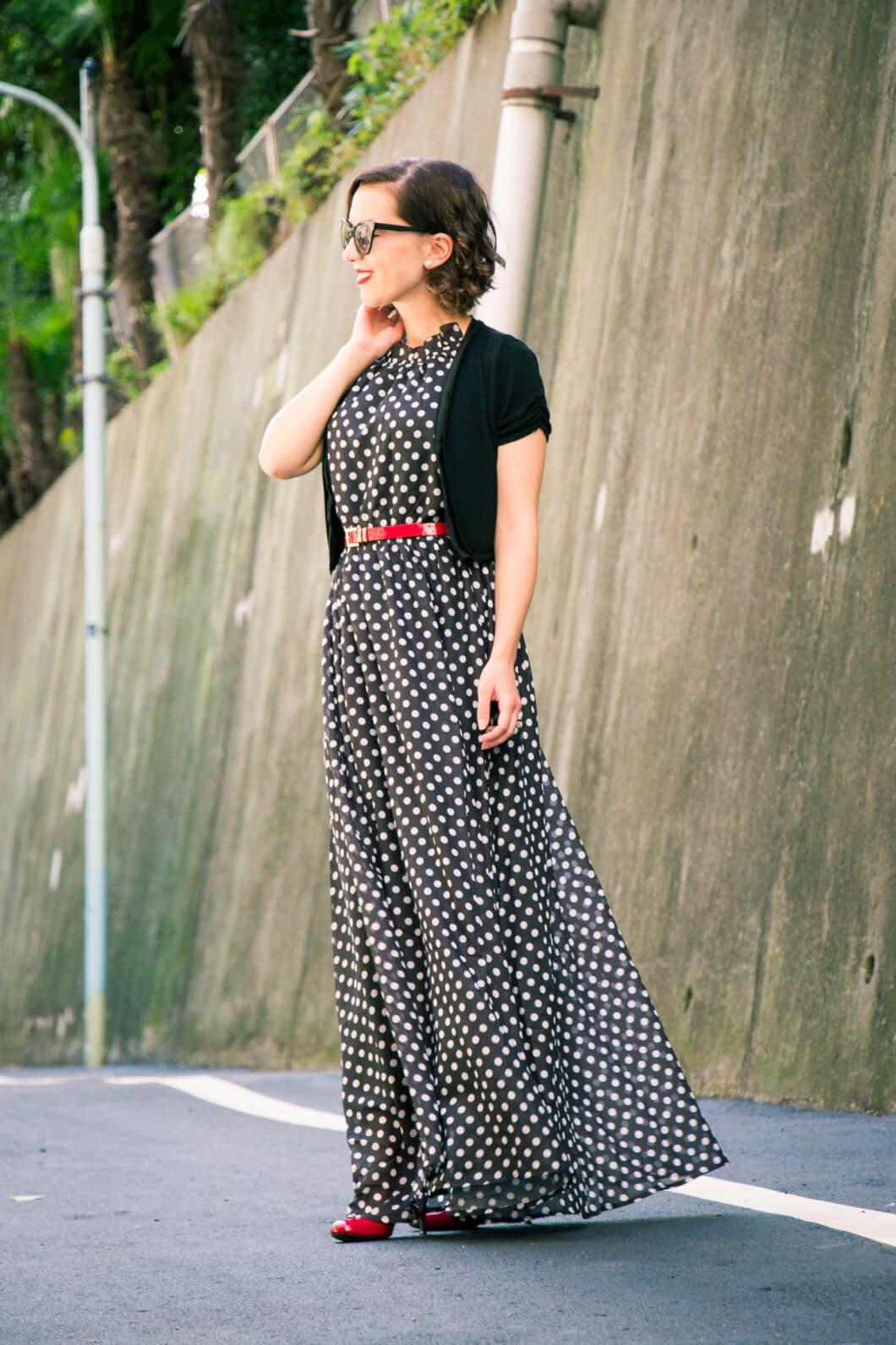 Makemechic maxi dress