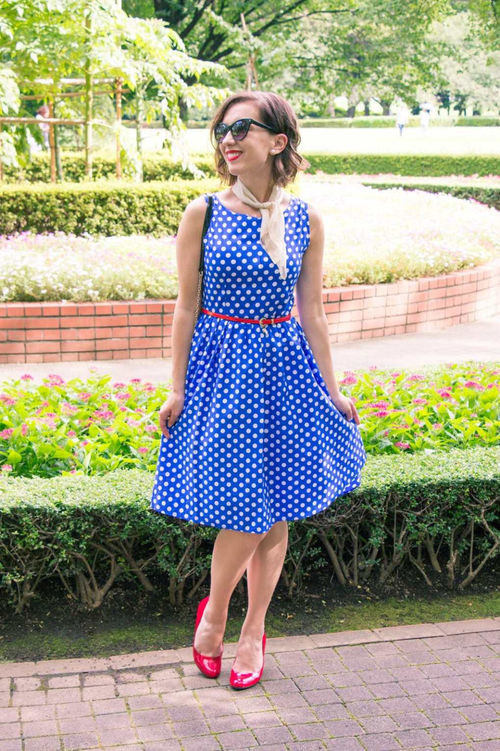 Shein Polka dot dress