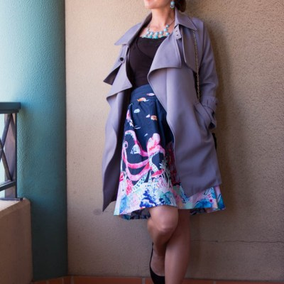 Seasonally Confused – A Spring or Fall Outfit?
