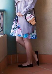 Ice cream cone purse